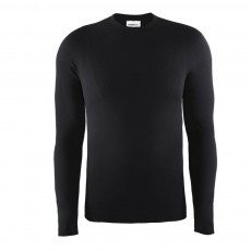 Craft Keep Warm Crewneck thermoshirt heren black