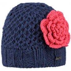 Rose Beanie muts junior old blue