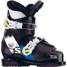 Salomon Team T2 skischoenen junior black white acide grey