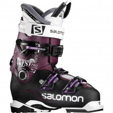 Salomon Quest Pro X90 W skischoenen dames black burgandy