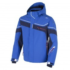CMP Stretch Zip Hood winterjas heren royal