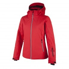 CMP Stretch Zip Hood winterjas dames ferrari