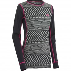 Kari Traa Kryss thermoshirt dames ebony