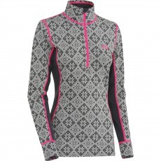 Kari Traa Rose Halfzip thermoshirt ebony