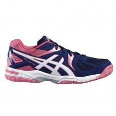 Asics Gel-Hunter 3 indoorschoenen dames indigo blue white azalea pink 1