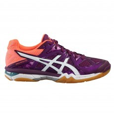 Asics Gel-Tactic indoorschoenen dames phlox white flash coral 1