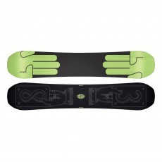 Bataleon Evil Twin Wide snowboard black green