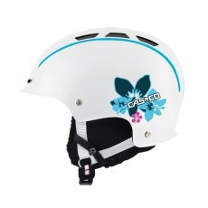 Casco Snow Fun skihelm junior white hibiscus