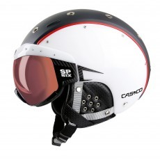 Casco SP-6 SIX skihelm black white