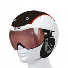 casco SP-6 Vautron skihelm white black red