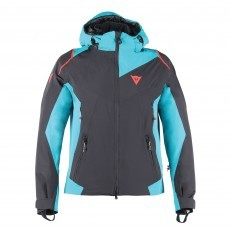 Dainese Skyward winterjas heren black bright aqua