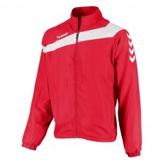 Hummel Elite Micro trainingsjack heren rood wit