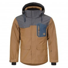 Icepeak Keeton winterjas heren brown