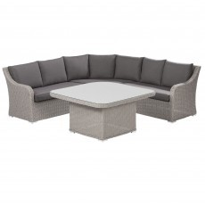Kettler Madrid Casual Dining loungeset beach grijs