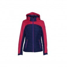 Killtec Patisa winterjas dames navy roze voor