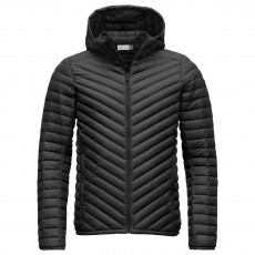 Kjus Blackcomb Hooded Down jack heren black
