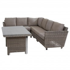 Taste by 4 Seasons Mauritius Cosy loungeset roca light grey