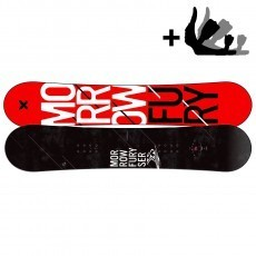 Fury snowboard incl. Axiom binding