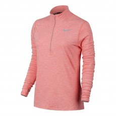 Nike Dry Element hardloopshirt dames bright melon
