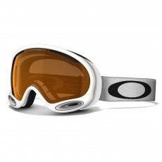 Oakley A Frame 2.0 skibril polished white persimmon