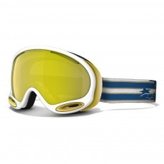 Oakley A Frame 2.0 skibril polished white 24k iridium
