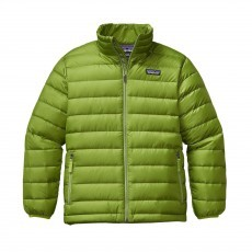 Patagonia Down Sweater jack junior Supply green