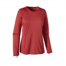 Patagonia Capilene Midweight Crew shirt dames Classic red