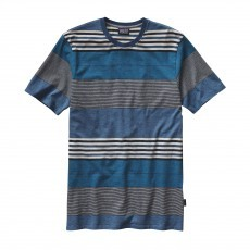 Patagonia Daily Tee shirt heren Channel blue