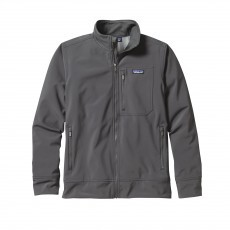 Patagonia Sidesend softshell jack heren Forge grey