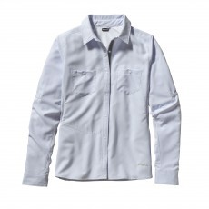 Patagonia Sol Patrol overhemd dames Ion blue