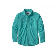 Patagonia Sol Patrol II overhemd Howling turquoise