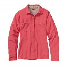 Patagonia Sol Patrol overhemd dames ginger berry