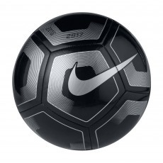 Nike Pitch voetbal black silver