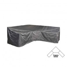 AeroCover loungesethoes hoekset trapeze 300 x 300 x 90 x 65-90 antraciet in doos