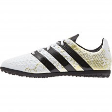 Adidas Ace 16.3 TF S31964 voetbalschoenen junior white coral black gold