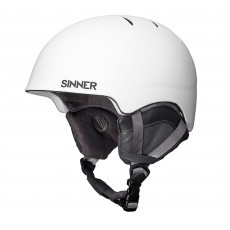 SINNER Lost Trail skihelm matte white