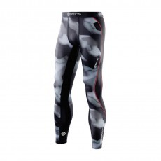 Skins DNAmic Compression long tights hardloopbroek heren glitch camo