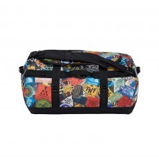 The North Face Base Camp Duffel S reistas tnf red sticker bomb print