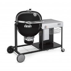 Weber Summit Charcoal Grill Center GBS System Edition houtskoolbarbecuemet zijtafel black