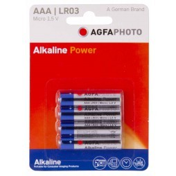 Alkaline Power AAA LR03 batterijen