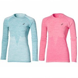 Asics LS Seamless 134610 hardloopshirt dames overview