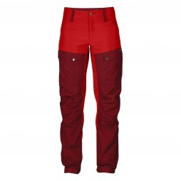 Fjällräven Keb Trousers ox red dames