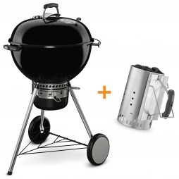 Weber Master-Touch GBS System Edition houtskoolbarbecue zwart