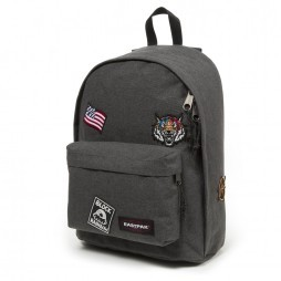 Eastpak Out Of Office rugzak black patched
