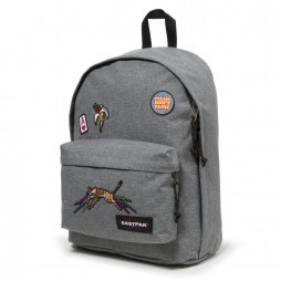 Eastpak Out Of Office rugzak grey patched