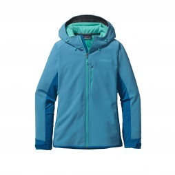 Patagonia Adze Hybrid Hoody softshell jack dames Catalyst blue
