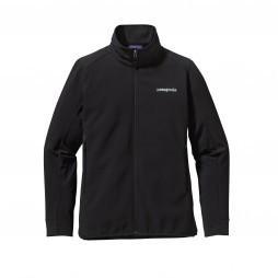 Patagonia Adze Hybrid softshell outdoor jack dames Black