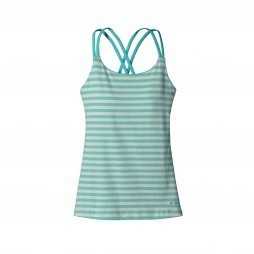 Patagonia Cross Back Tank top dames Howling turquoise