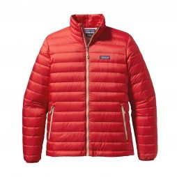 Patagonia Down Sweater jack heren Cochineal red