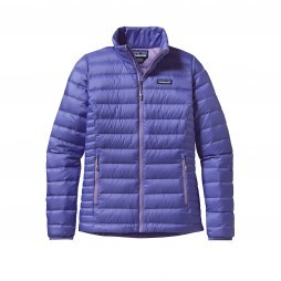 Patagonia Down Sweater jack dames Violet blue